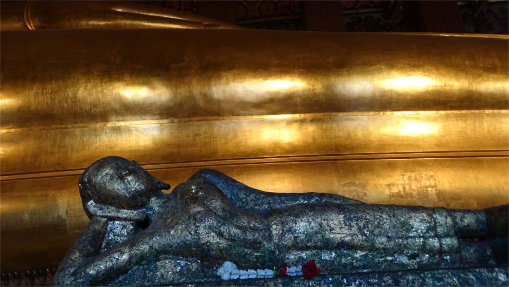 Reclining Buddhas of Wat Pho in Bangkok, Thailand